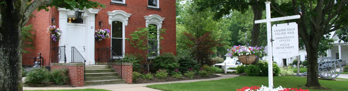 Village of Chagrin Falls – Building and Zoning Inspector